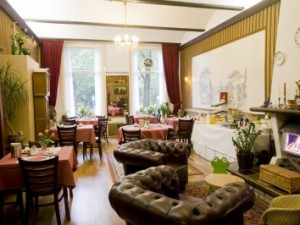 the friendly and hospitable atmosphere can be