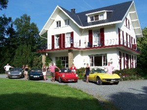 Safe haven for rally drivers: Hotel La Heid des Pairs, Spa