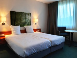 One of the hotelrooms