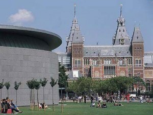 This is also another view of the Museumplein