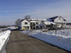 hotel Gerardushoeve in de winter